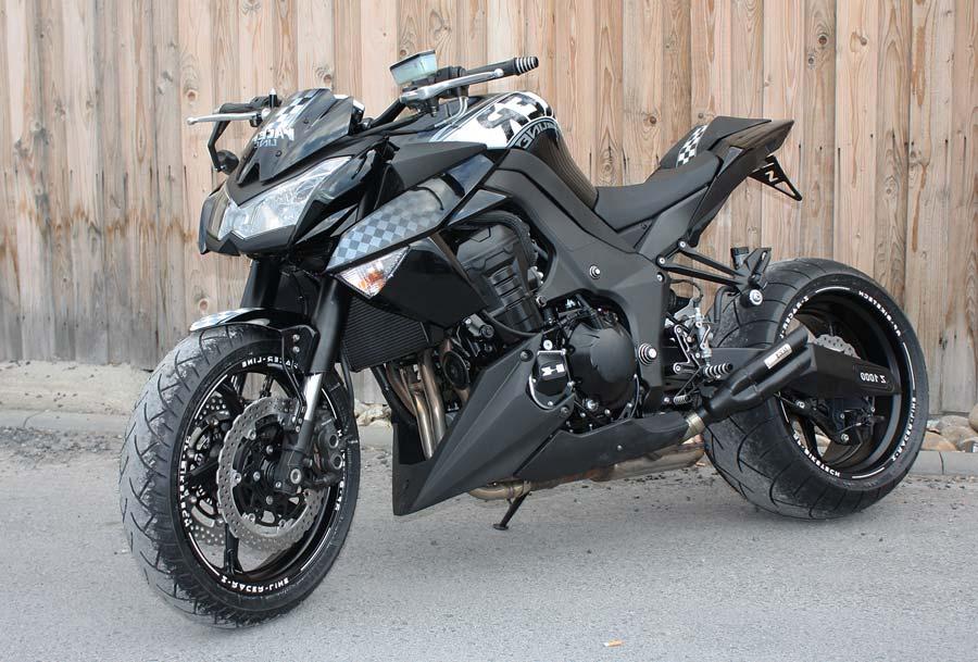 Die Umgebaute Kawasaki XY
