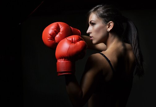 Boxing trainer